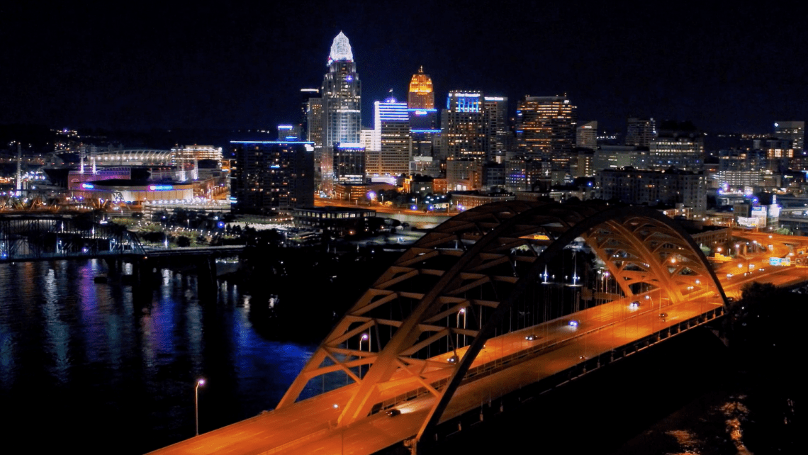 RESLV Part of the Community main header image, Cincinnati skyline